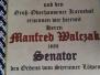 Senatorin Sandra Dietz u. Senator Manfred Walczak