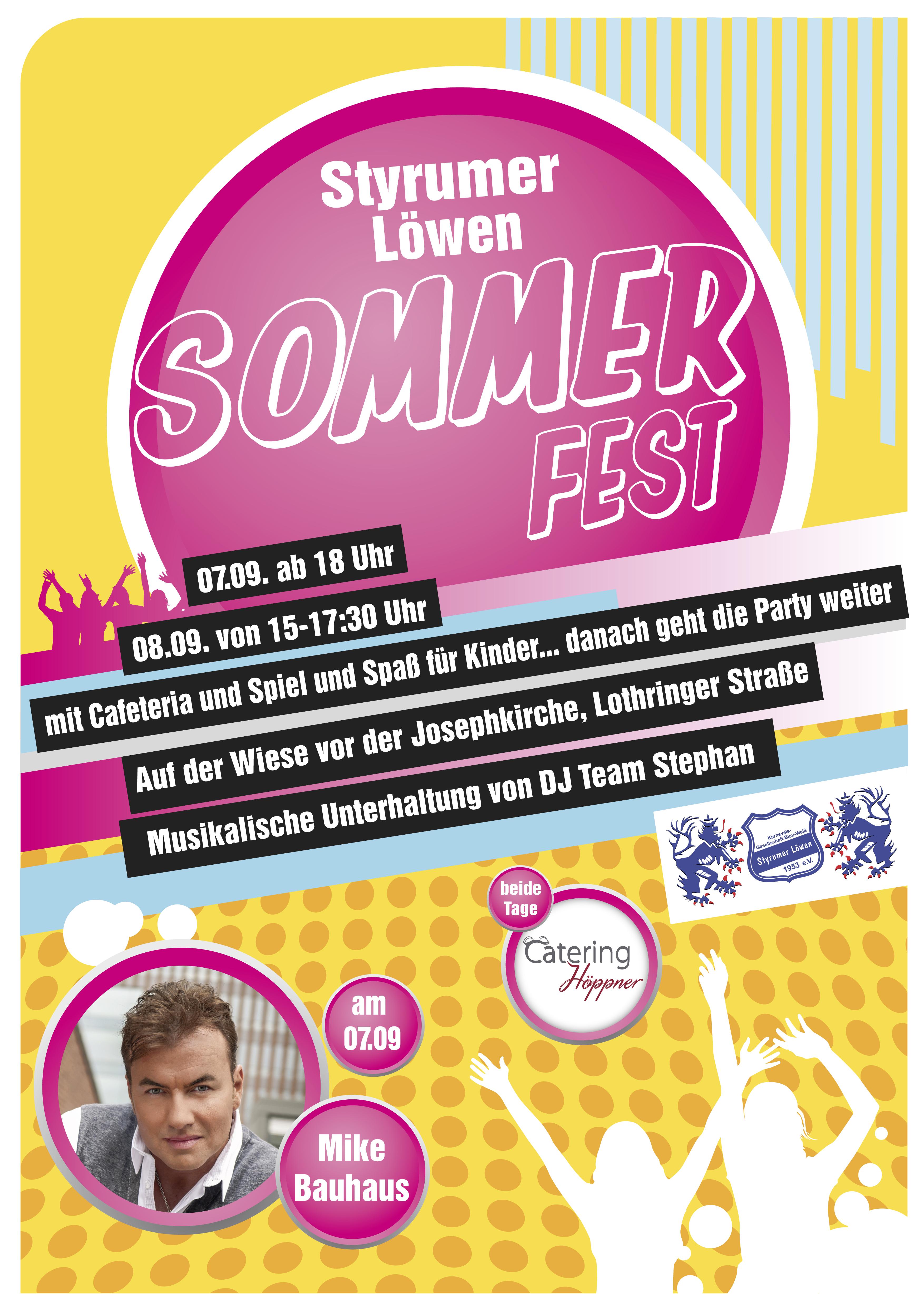Styrumer Löwen Sommerfest 2018